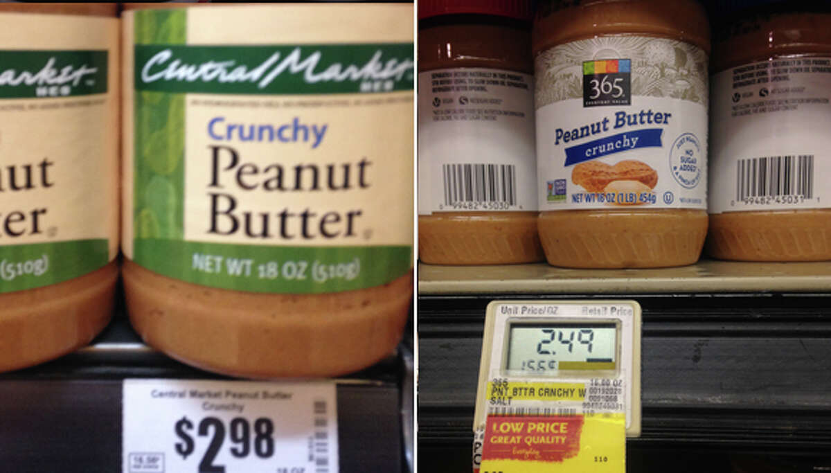 Popular Peanut butter is in 90 percent of the households in the U.S.