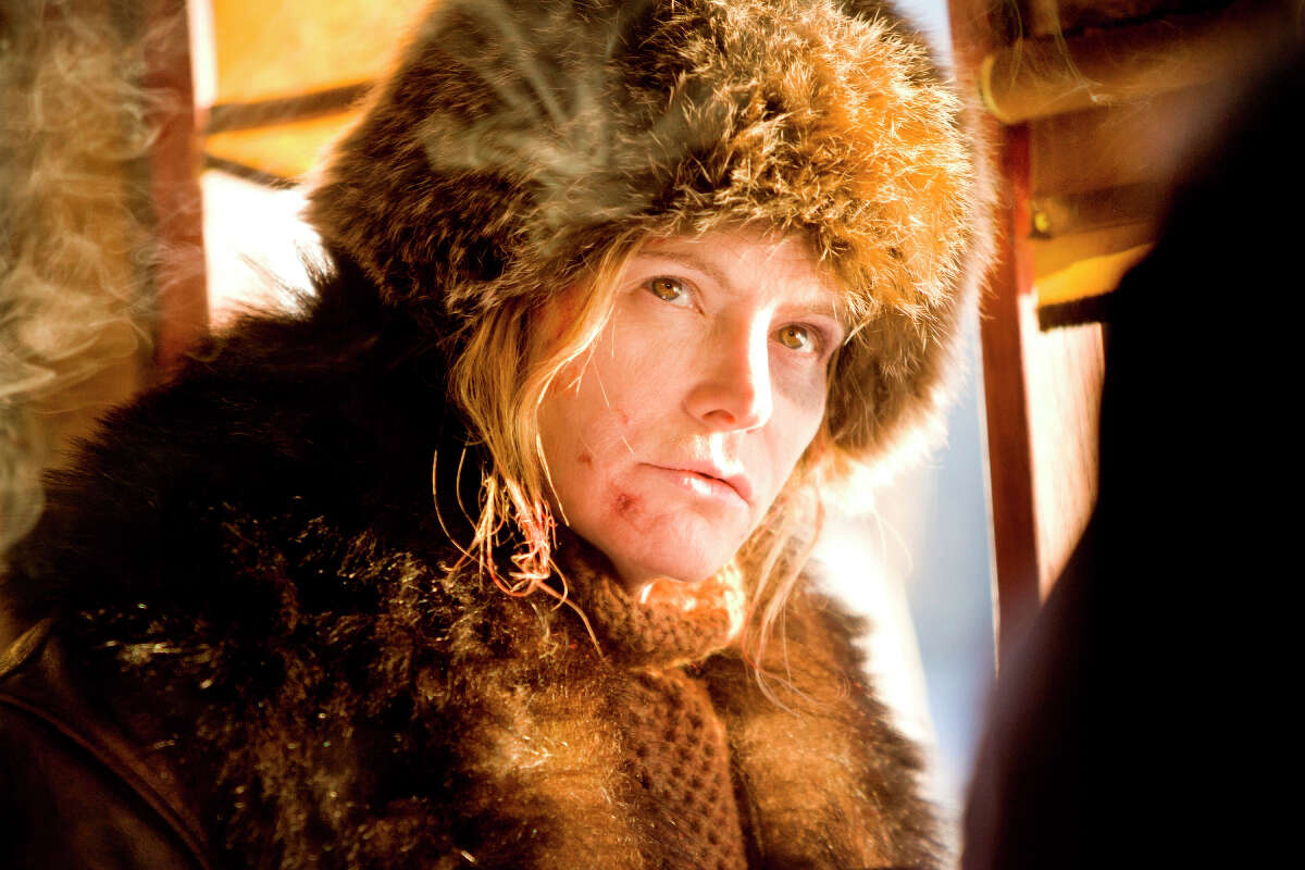 This image released by The Weinstein Company shows Jennifer Jason Leigh in a scene from