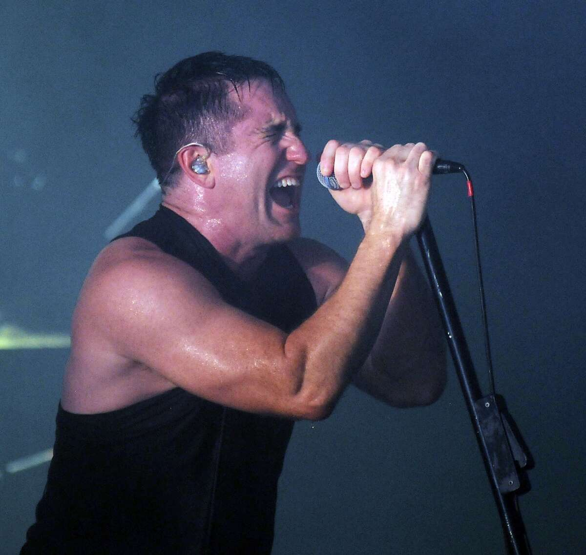 """Nine Inch Nails Why: A line of stellar albums that made industrial mainstream while putting on great, harrowing live shows. Plus Trent Reznor is now an Oscar winner. Who saw that 25 years ago?  Why not: Oldsters still traumatized by the """"Closer"""" music video in 1994."""