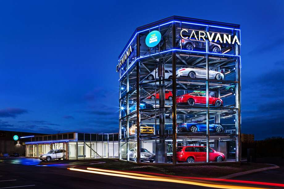 Carvana Launched A Vehicle Vending Machine In Nashville Last Month The Company Plans