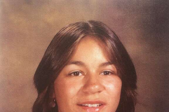 Vina Villegas, a San Francisco panhandler who died in July 2015 at age 50, as a younger woman in Oregon.