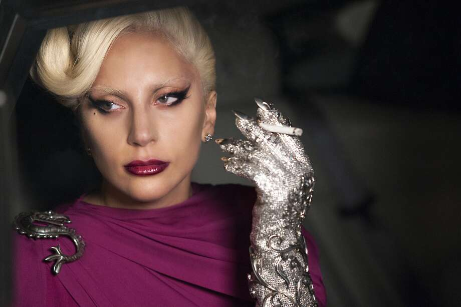 "Lady Gaga portrays the Countess in ""American Horror Story: Hotel,"" for which she's snagged a best actress nomination. Photo: Suzanne Tenner, Associated Press"