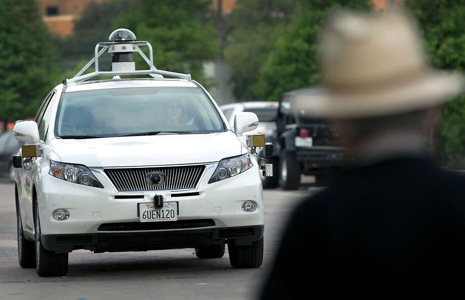 Chris Urmson, who heads up Google's self-driving car project, says the system is engineered to work hardest to avoid vulnerable road users (think pedestrians and cyclists), then other vehicles on the road, and lastly avoid things that don't move. Photo: Ralph Barrera /Austin American-Stateman / Austin American-Statesman