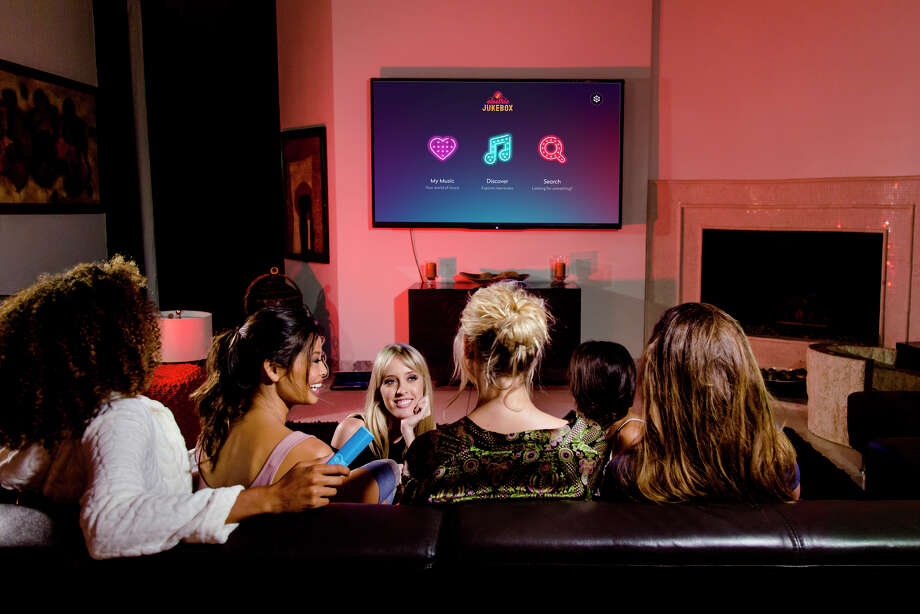 The Electric Jukebox is supposed to be a simple device that turns your TV monitor into an online music jukebox.