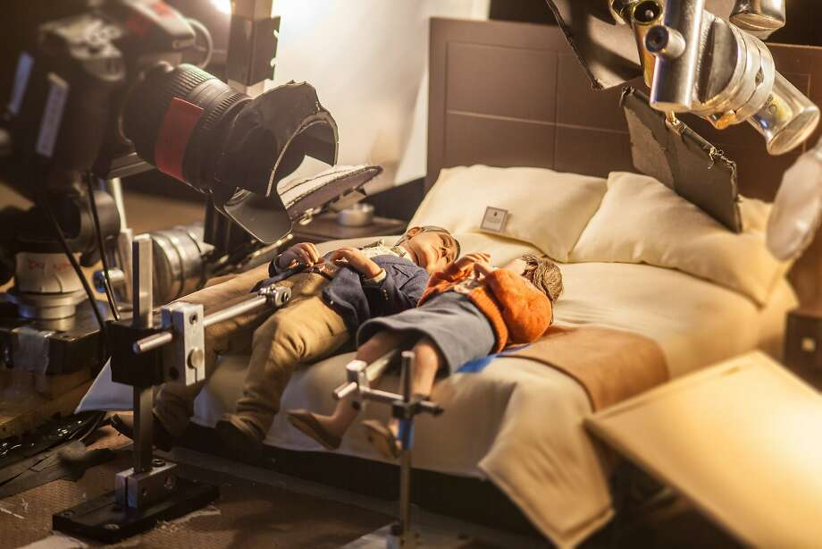"Puppets on the set of the animated stop-motion film, ""Anomalisa,"" by Paramount Pictures.  Photo credit: Chris ""Toots"" Tootell  © 2015 Paramount Pictures. All Rights Reserved Photo: Chris ""Toots"" Tootell"