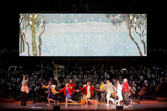 """The San Francisco Symphony will accompany """"A Charlie Brown Christmas-Live"""" at 2 p.m. Thursday, Dec. 24, at Davies Symphony Hall, with special guest Jodi Benson, the voice of Ariel in """"The Little Mermaid."""""""