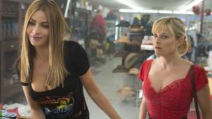 """Hot Pursuit"": A bad buddy comedy, with Sofia Vergara as the serious one and Reese Witherspoon in comic relief."