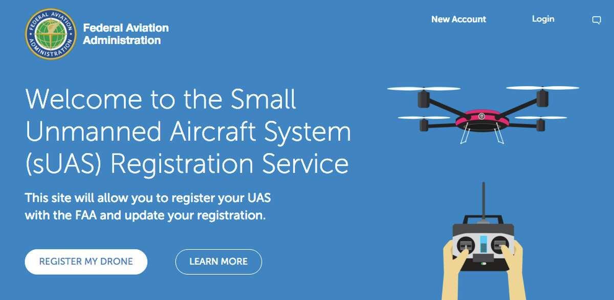 The hobbyists' drone registry is located here. It's only $5 to register, a bargain considering that, if you're caught flying an unregistered drone, it could cost you as much as $27,500.