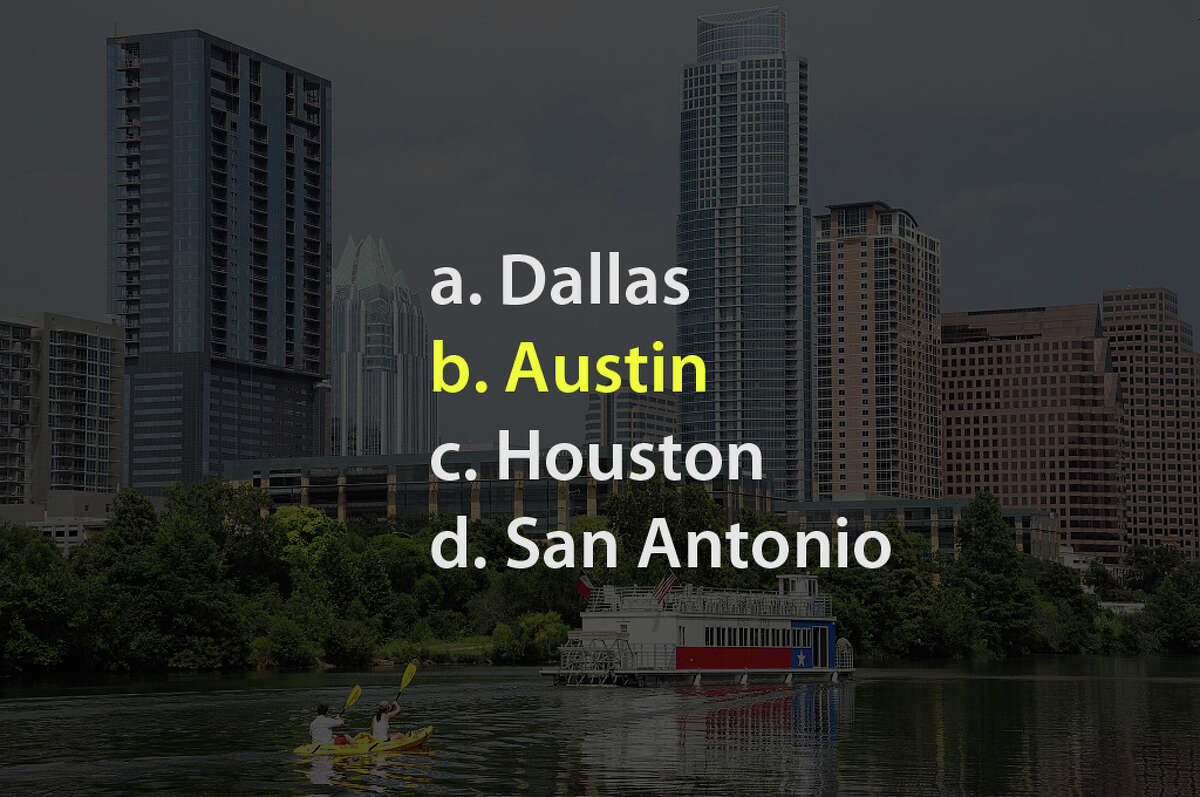 Yep, it's Austin!
