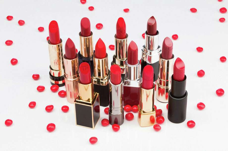 Red hot holiday lipstick shades. / Houston Chronicle