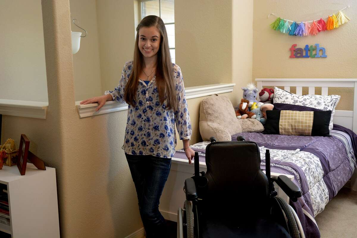Brooklyn Brumfield, who suffers with a rare genetic disorder, has made a recovery thanks to stem cell replacement therapy.