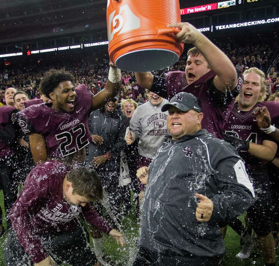 As seems to be the case every two years, an area 5A (old 4A) football powerhouse or two makes the jump to the state's largest classification after dominating at the second-highest class.In 2014, it was Dawson, Friendswood and Montgomery, which were a combined 28-9 the year before. In 2012, it was Manvel, which played in a state final the previous fall.This time around it's a state champion (George Ranch) and a semifinalist (Ridge Point) among others. And with basketball included, Class 6A welcomes back the current No. 1 boys basketball team in Bush.Ridge Point and Bush should join in with six other 6A Fort Bend ISD schools. George Ranch's destination isn't as clear. With the remaining Lamar Consolidated schools still in 5A, George Ranch may go north and join the seven Katy ISD schools or east to Fort Bend. Photo: Bob Levey, FRE / FR156786 AP