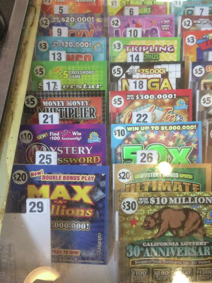 Scratchers, $1–$20. It's fun scratching these off, and even better if someone wins. Photo: Amy Graff