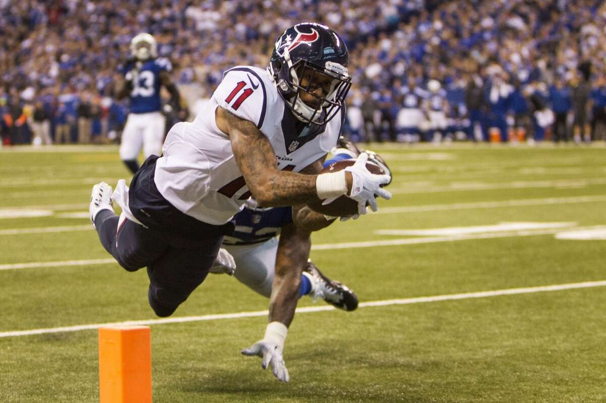 Third round: Jaelen Strong, WRWho they could have had: Minnesota's Stefon Diggs, Seattle's Tyler Lockett and Washington's Jamison Crowder have all been more productive receivers as rookies, but the Texans still like Strong's upside. How he did in 2015: At first glance, it may not look like Strong has panned out, but he's shown enough flashes to provide some hope for the future. Strong had 14 catches for 161 yards, but three of those receptions have been for touchdowns - including what proved to be the game-winner against the Colts on December 20th. Strong showed up to camp out of shape, but lost about 30 pounds since the spring. The Texans have hope that he's on the verge of making regular contributions.