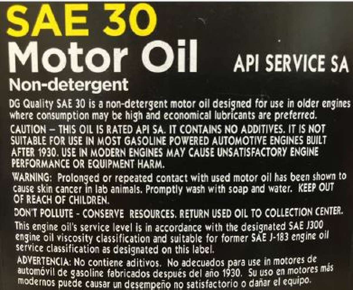 Michael Deck of Houston filed a lawsuit Dec. 21, 2015, in U.S. District Court against Dollar General Corporation, alleging that the company's motor oils are obsolete and it engages in deceptive and misleading marketing and sales practices.