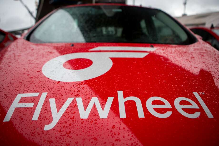 Flywheel taxis are seen on the lot on Monday, Dec. 21, 2015 in San Francisco, Calif. Photo: Nathaniel Y. Downes, The Chronicle