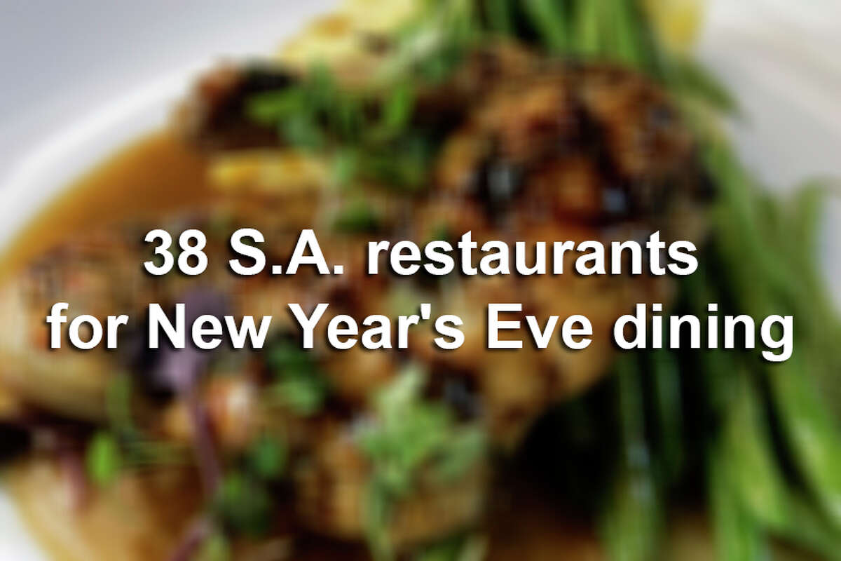 Ring in the new year by dining at these posh San Antonio eateries.
