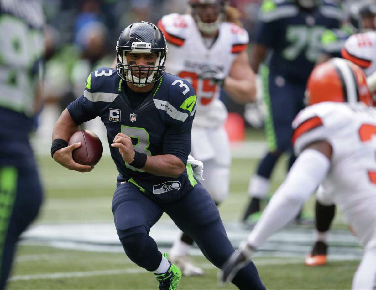 Notable number: 111.4 That's Russell Wilson's passer rating this season after last week's game against Cleveland. Starting with Seattle's victory over the San Francisco 49ers on Nov. 22, Wilson has put up ratings of 138.5, 147.9, 146.0, 139.6 and 128.3 -- good for a staggering average in that span of 140.06.