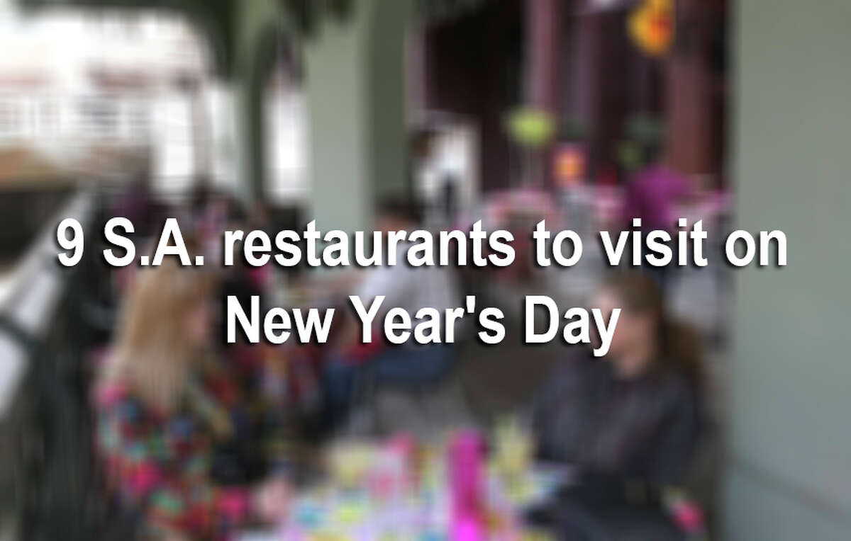Check out these area restaurants that offer tasty dishes so you can kick back and enjoy New Year's Day.