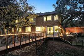 A shingled exterior offers an example of traditional designs found at 1521 Cabrillo Ave. in Burlingame.