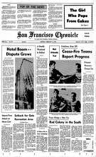 Historic Chronicle Front Page February 5, 1973 Hotel building boom in San Francisco  Chron365, Chroncover
