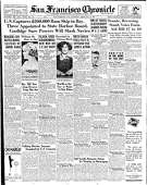Historic Chronicle Front Page February 12, 1927 $200,000 in rum seized  Chron365, Chroncover