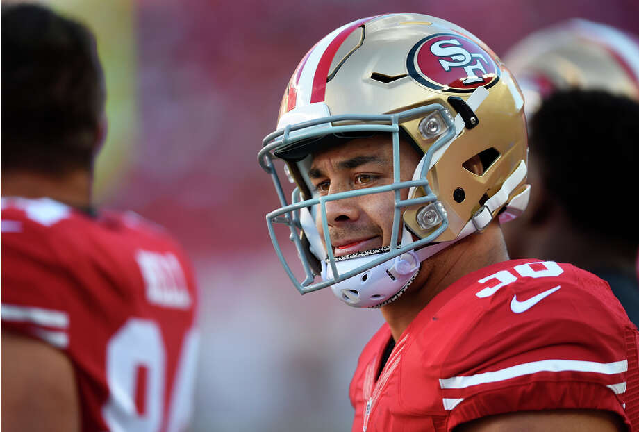 Australian Jarryd Hayne says he has acquired a greater understanding of the game through his time on the scout team. Photo: Thearon W. Henderson / Getty Images / 2015 Getty Images