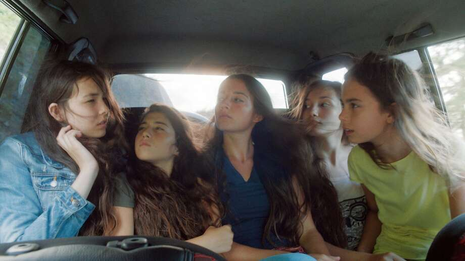 "Tugba Sunguroglu (left), Doga Zeynep Doguslu, Elit Iscan, Ilayda Akdogan and Gunes Sensoy are sisters with a bit too much attitude for their traditional culture in the Turkish film ""Mustang."" Photo: Associated Press"