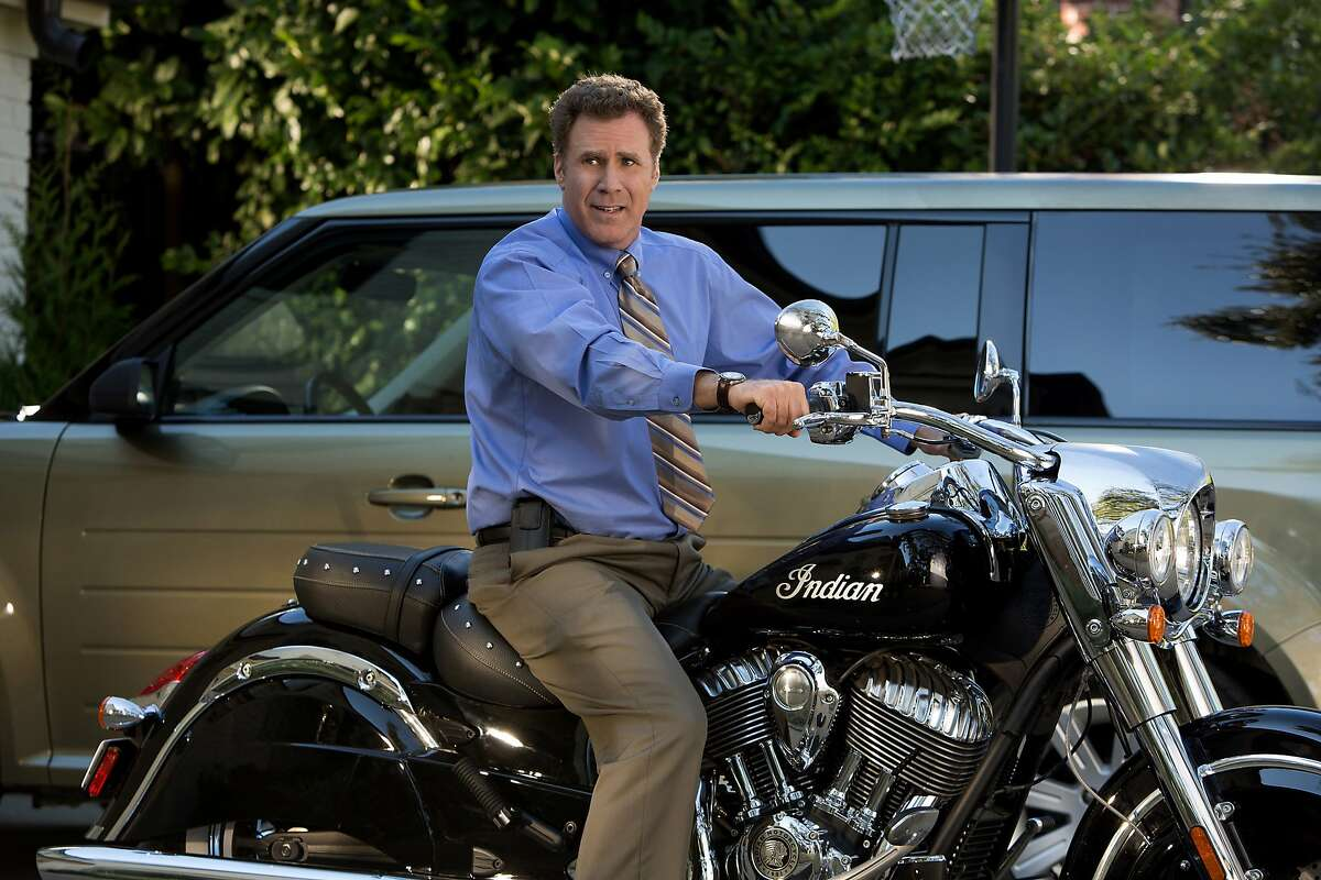 This photo provided by Paramount Pictures shows Will Ferrell as Brad Whitaker in the film,