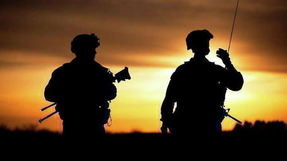U.S. soldiers patrol in Afghanistan. Monday's attack — the Taliban claimed responsibility — targeted soldiers in a village near Bagram Airfield. Photo: Washington Post / HANDOUT