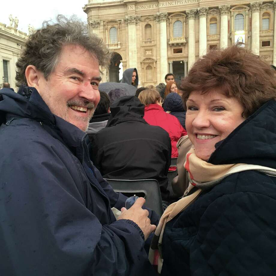 Bob and Jo Anne Comeaux joined pilgrims at the Vatican on Dec. 8. Photo: Courtesy /Courtesy