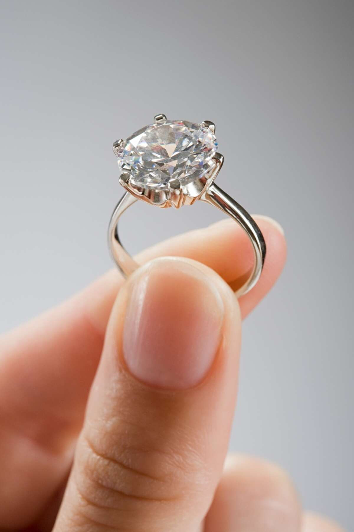 Couples in Alabama spend an average of $8,062 on engagement rings.