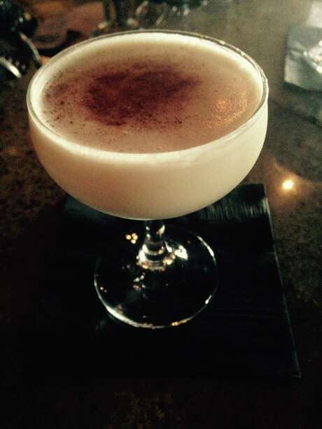 Park Social's take on a brandy Alexander is called the Pecan Alexander and features creme de cacao infused with roasted pecans. Photo: Courtesy Photo /Courtesy Photo