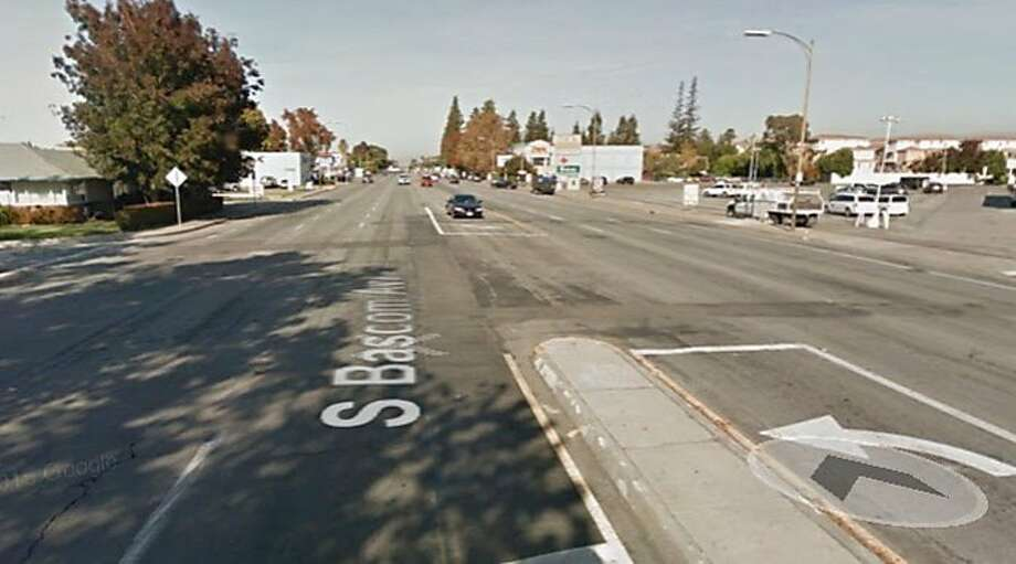 A 90-year-old man was struck and killed while crossing a street in San Jose on Tuesday. Photo: Google Maps