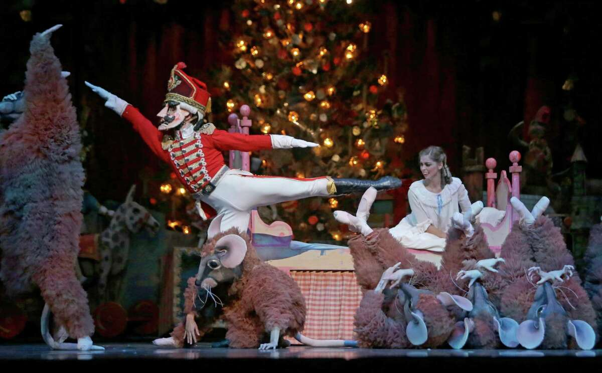 """Fluffy mice in pointe shoes were more funny than dangerous in Ben Stevenson's version of """"The Nutcracker."""""""