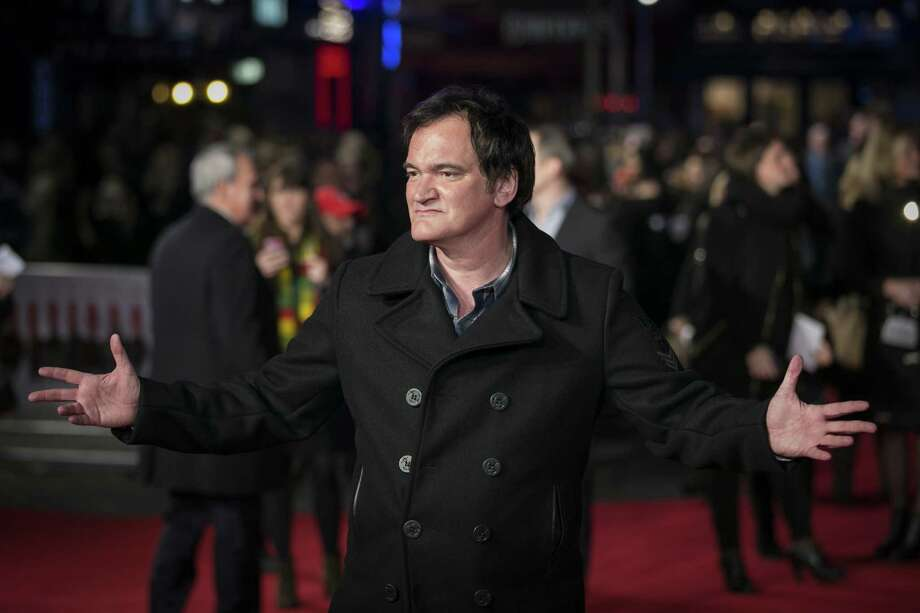 "Quentin Tarantino attends the European premiere of ""The Hateful Eight."" Photo: John Phillips, Getty Images / 2015 Getty Images"