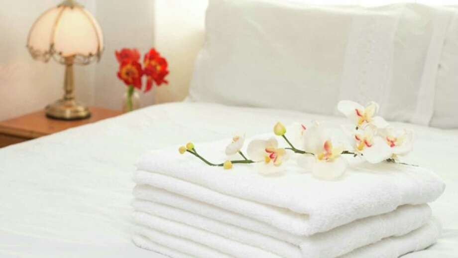 Leave towels in plain sight for your guests. Photo: Handout /McClatchy-Tribune News Service / Thinkstock