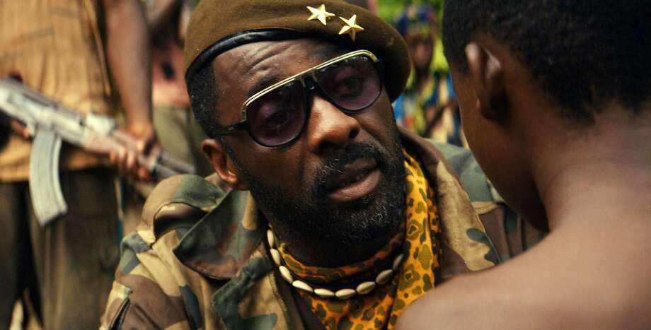 "Idris Elba, after a busy year of acting work, is nominated for ""Beasts of No Nation"" as well as for ""Luther."" Photo: Associated Press"