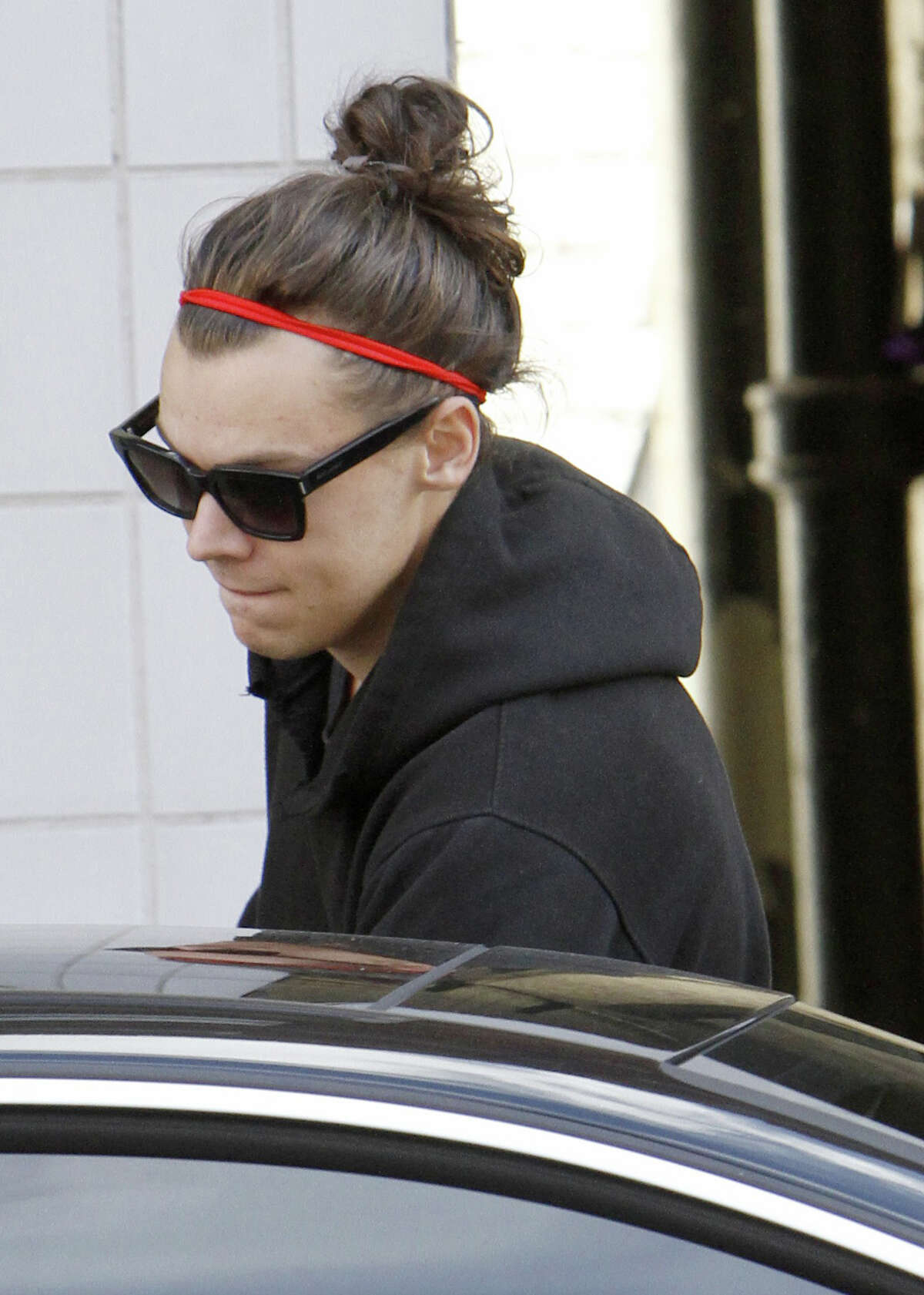 Man buns were all the rage. We don't know why. Here, Harry Styles of the British band One Direction was sighted wearing one in September.