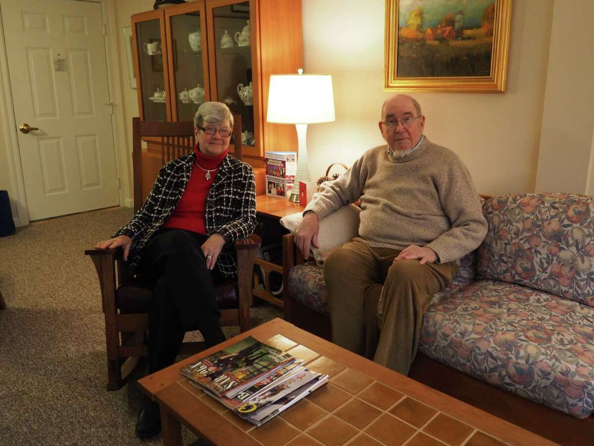 A.C. Riley moved from her long-time home to senior apartments at the Wesley Community (Photo: J.p. Lawrence).