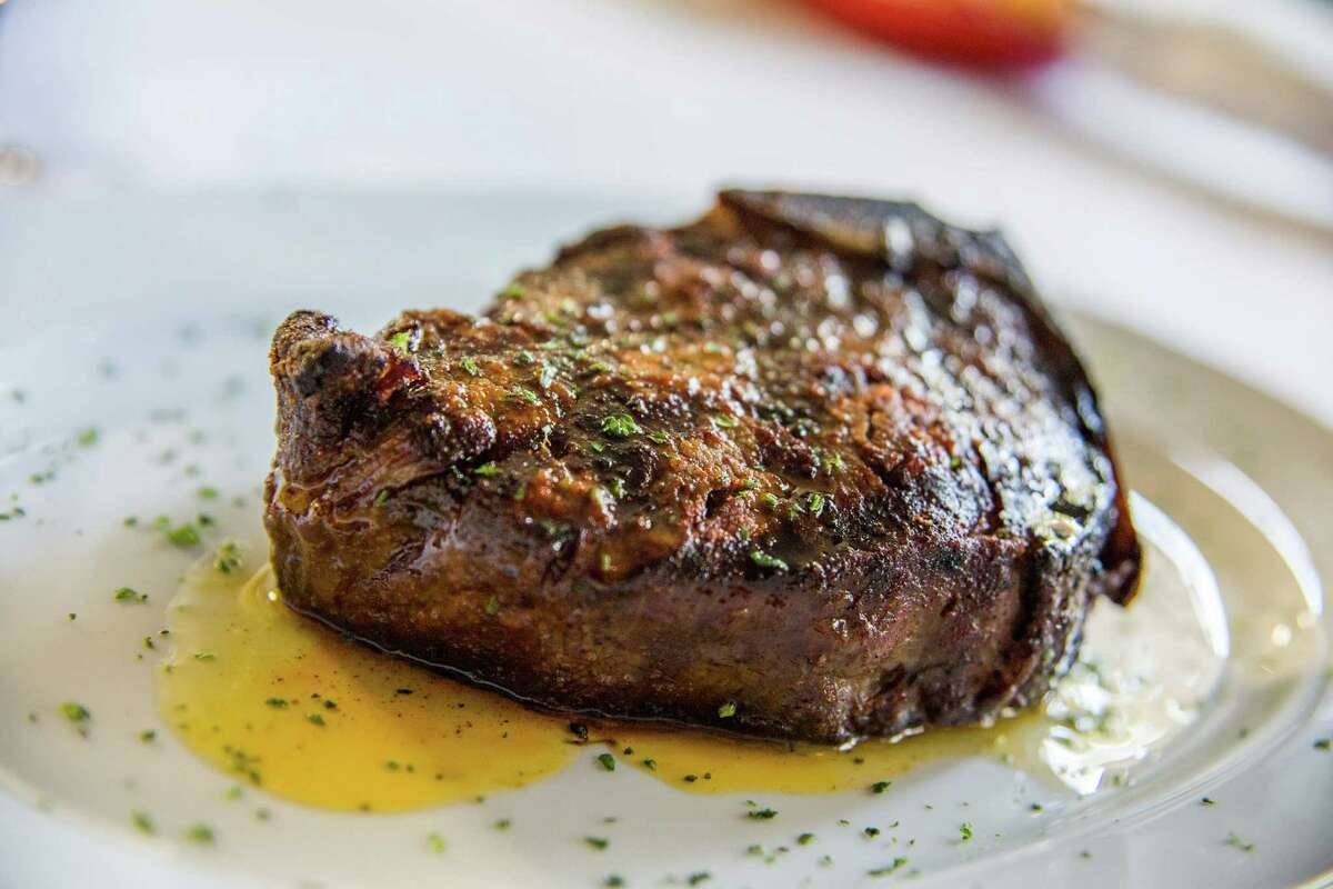 The owners of the Phoenix-based Steak 44 will open Steak 48 at River Oaks District in Spring 2016. When the project was originally announced for Houston, the restaurant name was Steak 44. But owners Jeffrey and Michael Mastro decided to change the name to Steak 48 as a nod to its roots in Arizona, the 48th state. Shown: A steak from the Steak 44 menu.