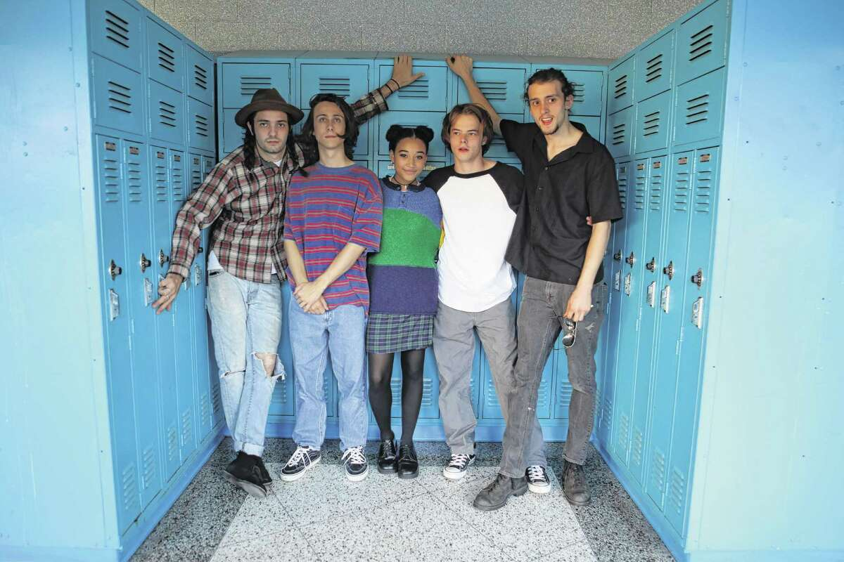 Miles Joris-Peyrafitte (Director), Owen Campbell (Lead Actor - Jack), Amandla Stenberg (Lead Actor - Sarah), Charlie Heaton (Lead Actor - Mark), Madison Harrison (script Supervisor/Screenwriter). (Photo courtesy Youth FX)