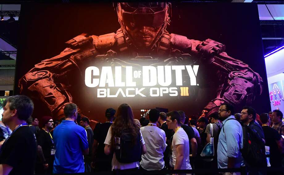 """""""Call of Duty: Black Ops 3"""" is among the highly anticipated games that have recently reached stores. Photo: Frederic J. Brown, AFP / Getty Images"""