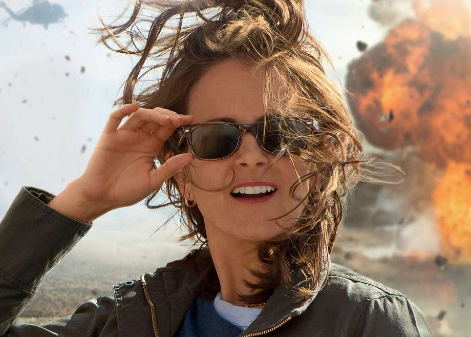 "Tina Fey plays a rookie war correspondent in ""Whiskey Tango Foxtrot."" Photo: Courtesy Paramount Pictures"