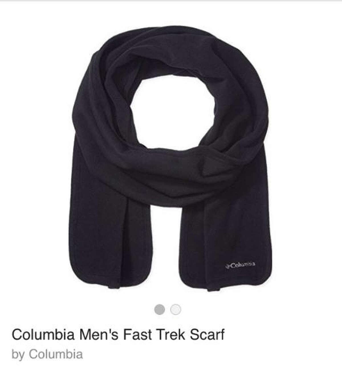 Columbia Men's Fast Trek Scarf $14 Find it here.