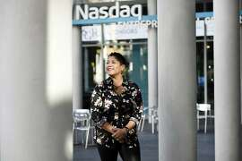 Karla Martin poses for a portrait at the Nasdaq Entrepreneurial Center in San Francisco, CA Wednesday, December 23, 2015.
