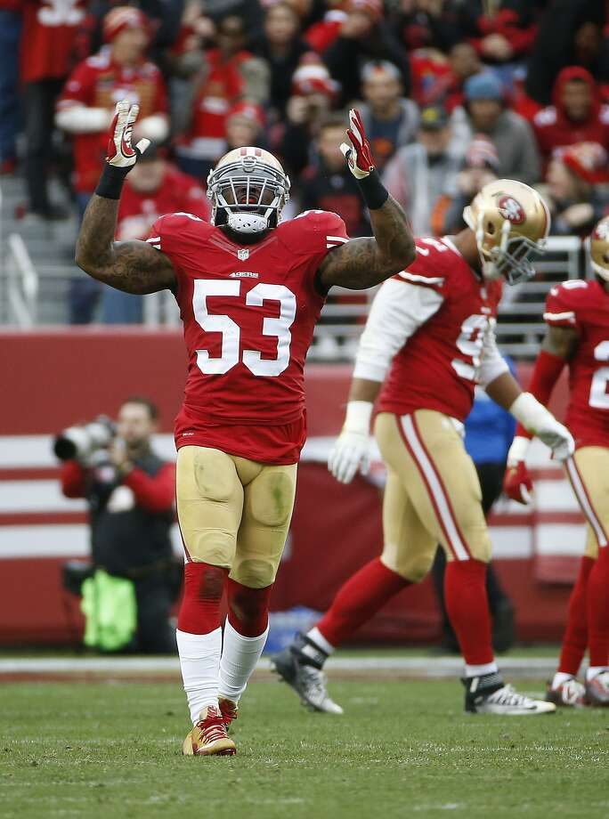 NaVorro Bowman's return to Pro Bowl status after a devastating injury has been one of the 49ers' few bright spots. Photo: Tony Avelar, Associated Press