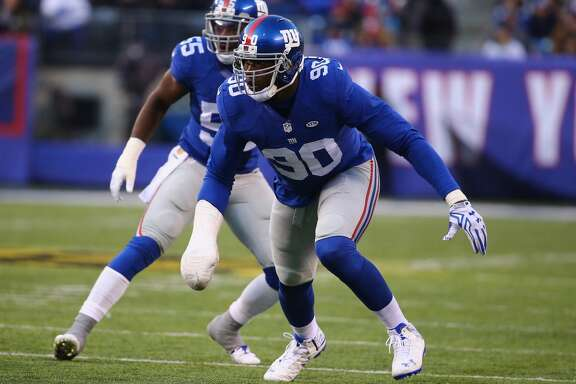 New York Giants    After losing his index finger and damaging his hand in a fireworks accident on July 4, defensive end Jason Pierre-Paul has made a strong comeback and has 13 tackles and one sack in six games.
