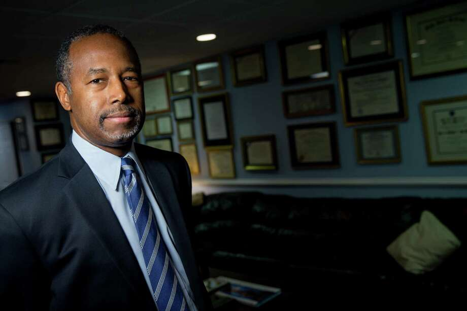 "In an interview at his home in Upperco, Md., on Wednesday, Republican presidential candidate Ben Carson said, ""personnel changes"" could be coming. Photo: Andrew Harnik /Associated Press / AP"