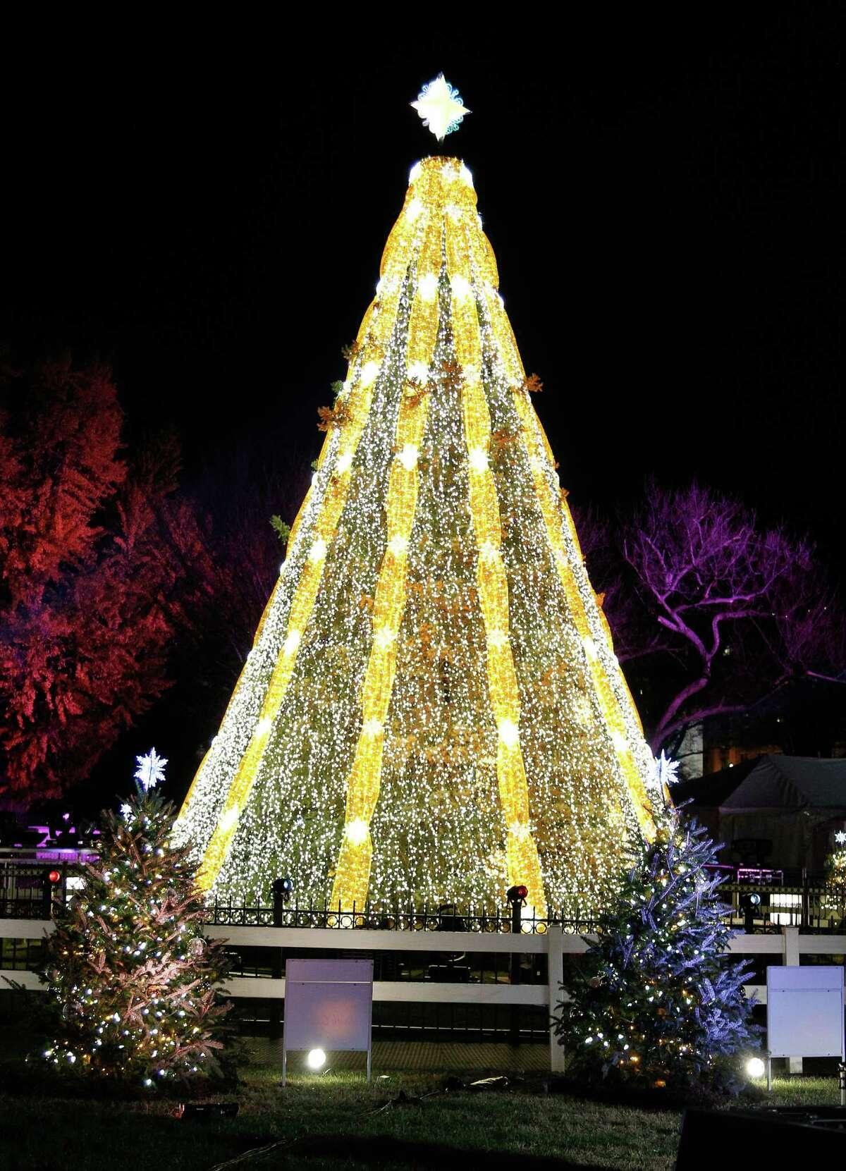 The National Christmas Tree Lighting Ceremony in President's Park on Thursday, December 3, 2015 in Washington, DC.